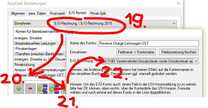 Easycashtax Website Forum 13b Reverse Charge Fremdrechnungen
